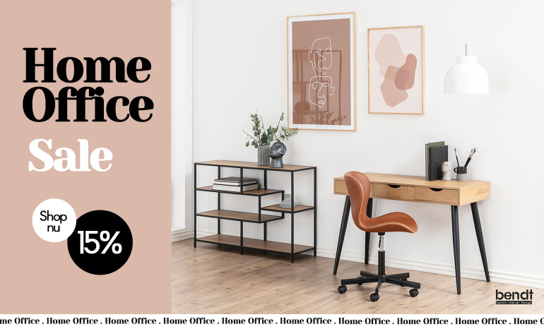 Bendt Home Office Sale bij Meubelpartner!