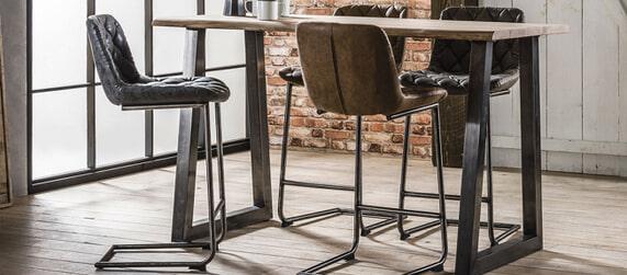 Moderne Witte Barstoelen.Barkrukken Barstoelen