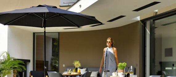Parasolvoet Voor Zwevende Parasol.Parasols Parasolvoeten