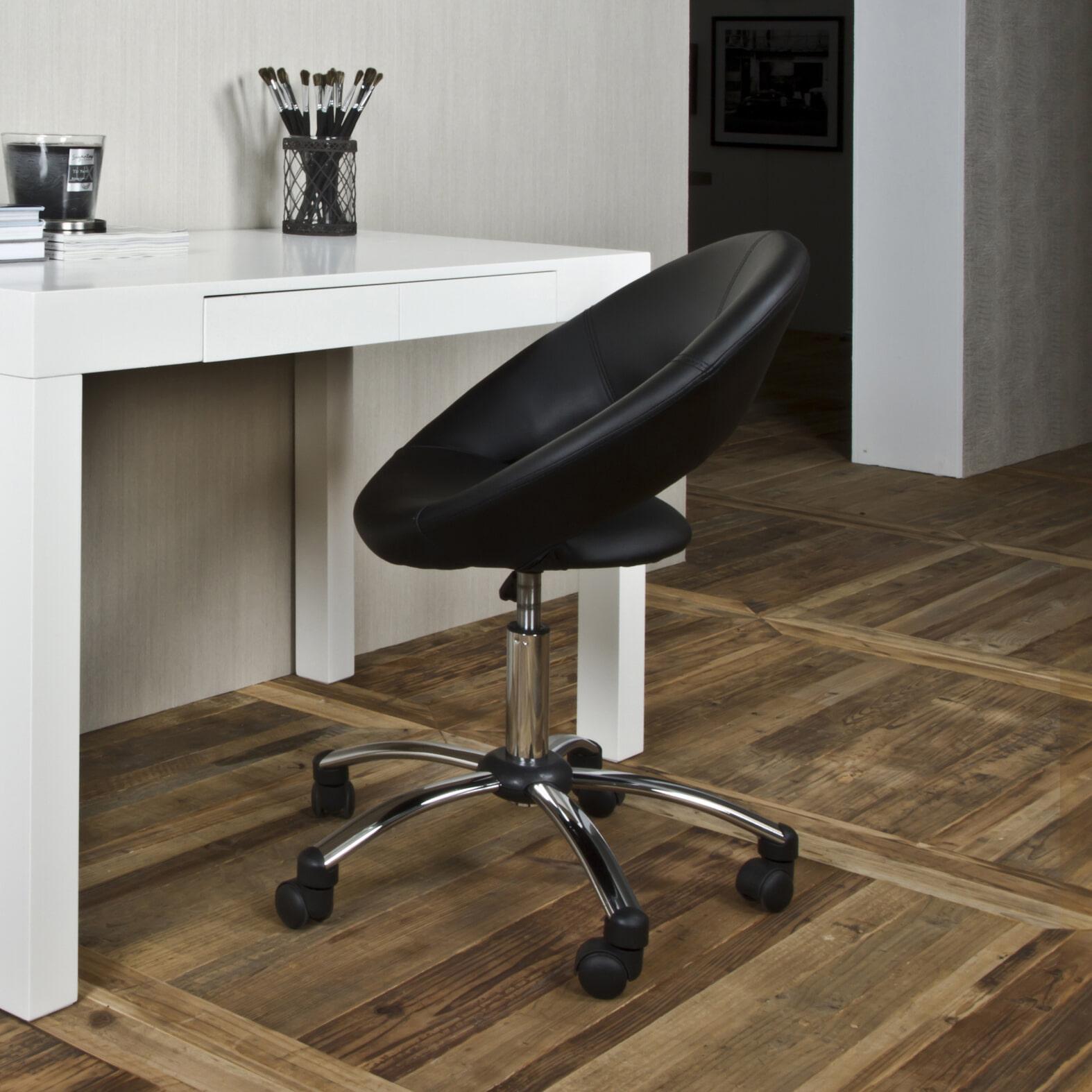 Bendt Bureaustoel 'Ingolf', kleur zwart