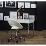 Bendt Bureaustoel 'Ingolf', kleur wit