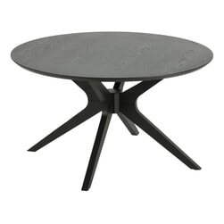 Bendt Salontafel 'Evald' 80cm, kleur Zwart
