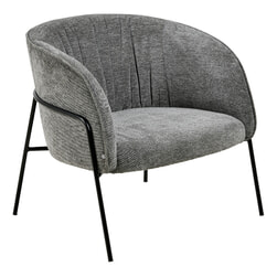 Interstil Fauteuil 'Scandia', kleur antraciet