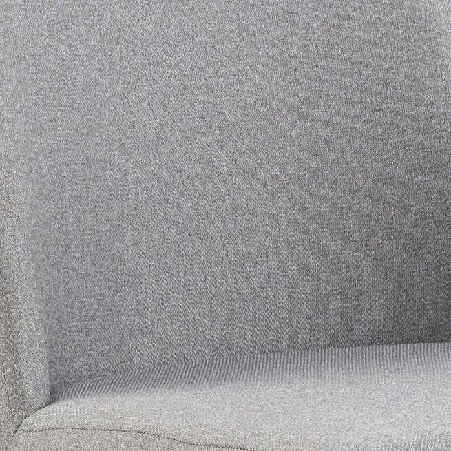 Bendt Barkruk 'Emilie' (zithoogte 52-78.5cm), kleur Grijs