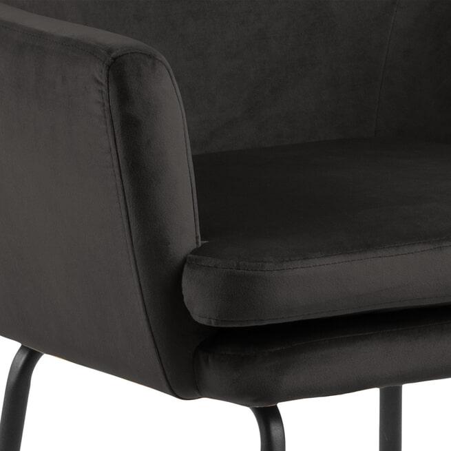 Bendt Barkruk 'Kian' Velvet (zithoogte 80cm)