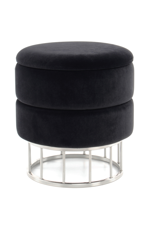 Kayoom Krukje 'Nul' met opbergruimte, kleur zwart