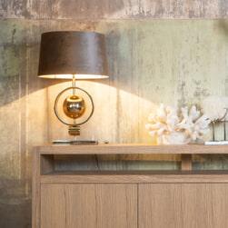 Richmond Tafellamp 'Averil', 52cm, kleur Goud
