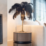 Richmond Tafellamp 'Upanova' kleur Zwart
