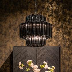 Richmond Hanglamp 'Yale' kleur Zilver