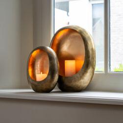 Richmond Kandelaar 'Magly' 30cm, kleur Goud