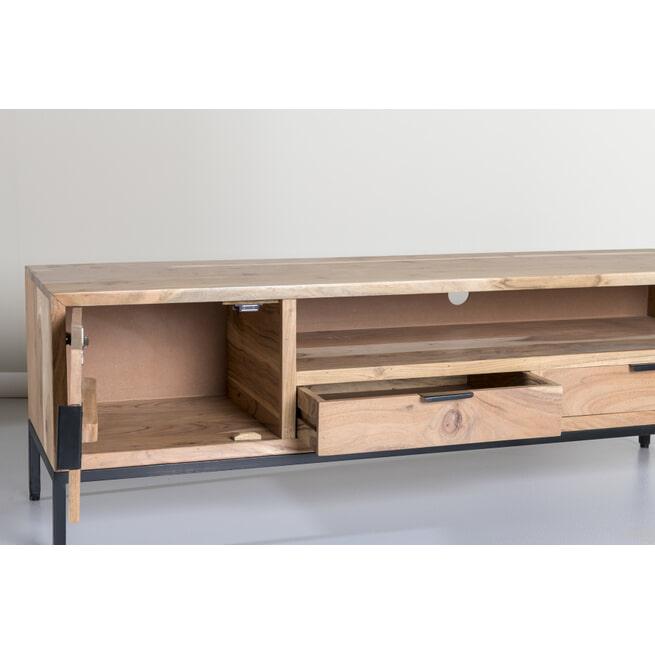 TV-meubel 'Oslo' Acaciahout, 140cm