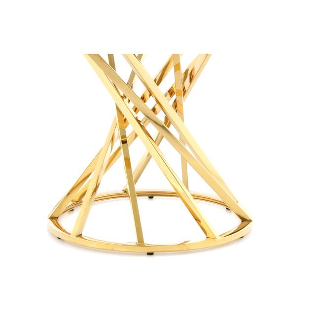 Kayoom Bijzettafel 'Wesley' 50cm, kleur goud