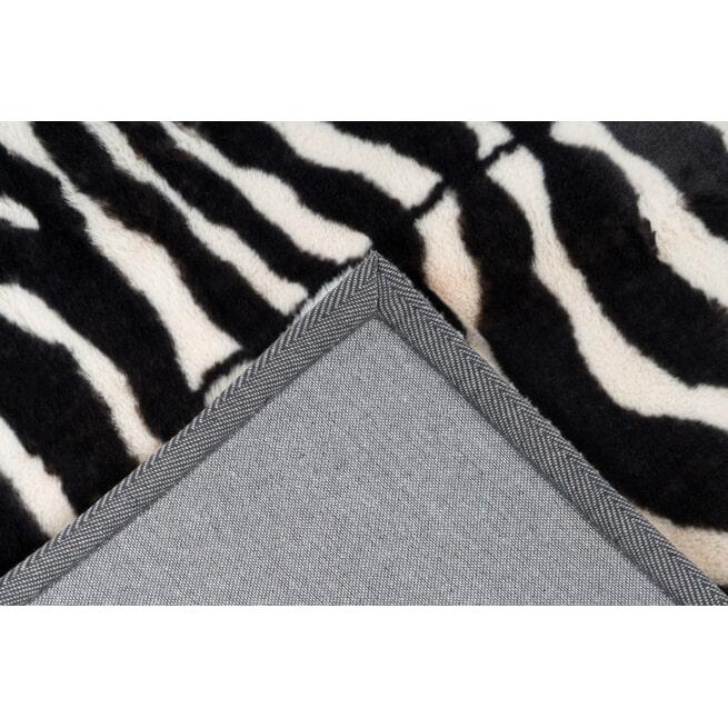 Kayoom Vloerkleed 'Rabbit Animal' kleur zwart / wit