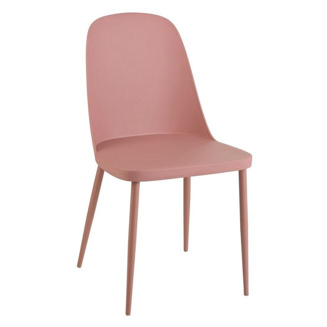 J-Line Tuin / Eetkamerstoel 'Antony' kleur Roze