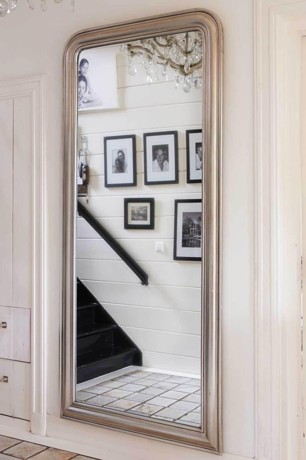Riviera Maison Place Vendôme Mirror 100x220cm Spiegel Glas; Hout online kopen