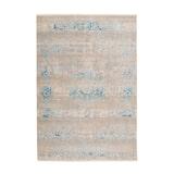 Kayoom Vloerkleed 'Barok 300' kleur Grijs / Turquoise, 120 x 170cm