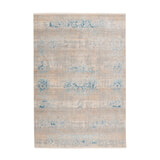 Kayoom Vloerkleed 'Barok 300' kleur Grijs / Turquoise, 80 x 150cm