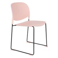 ZILT Eetkamerstoel 'Simon' kleur Roze