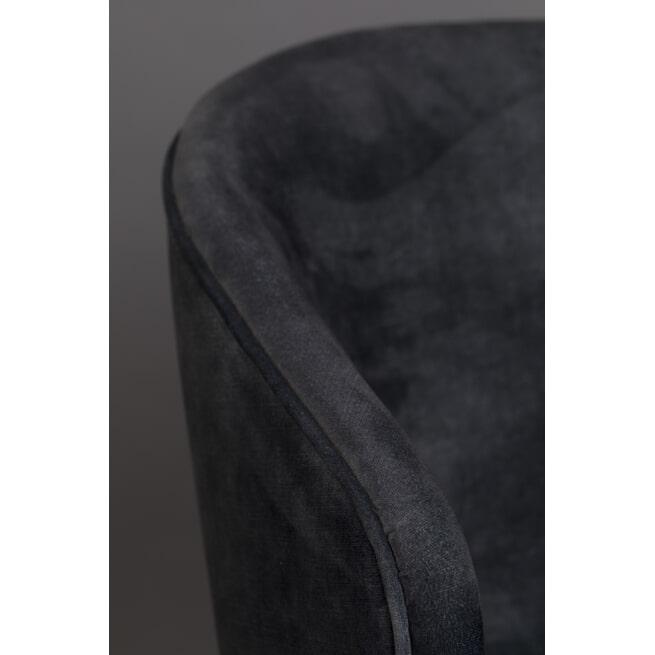 Dutchbone Eetkamerstoel 'Lunar' Velvet