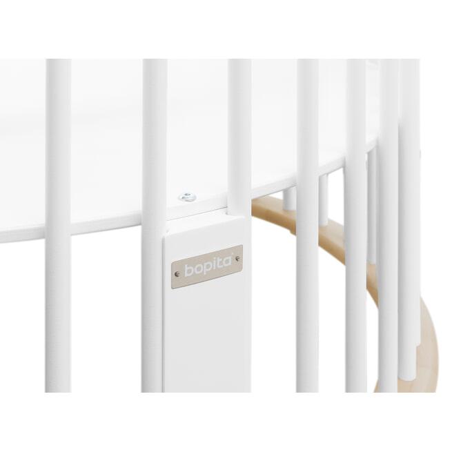 Bopita Box 'Rondo' kleur wit / naturel