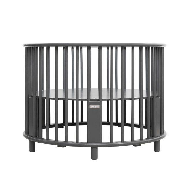 Bopita Box 'Rondo' kleur deep grey