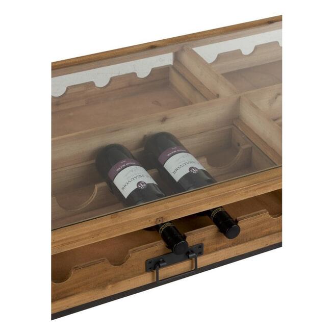 J-Line Salontafel 'Marie-Antoinette' voor wijnflessen