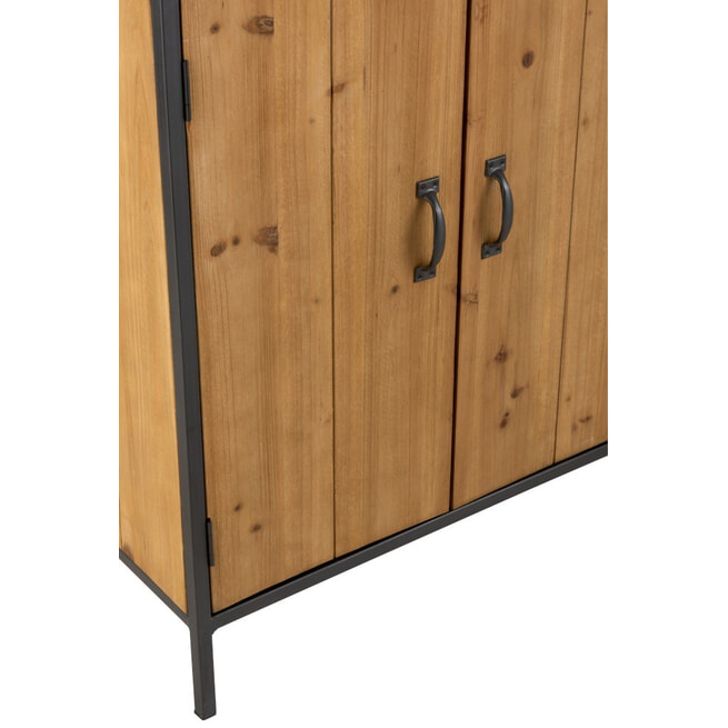 J-Line Wijnkast 'Lisette' 180 x 60cm