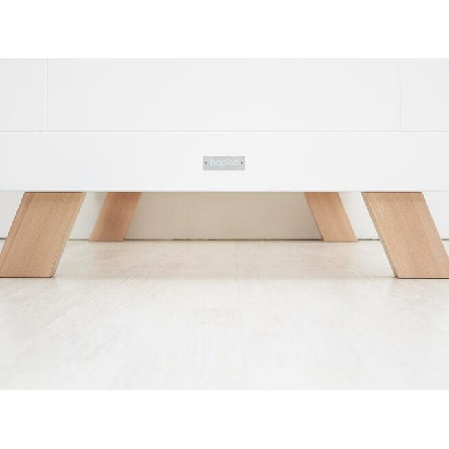 Bopita Ledikant 'Lisa' 60 x 120cm, kleur wit / naturel