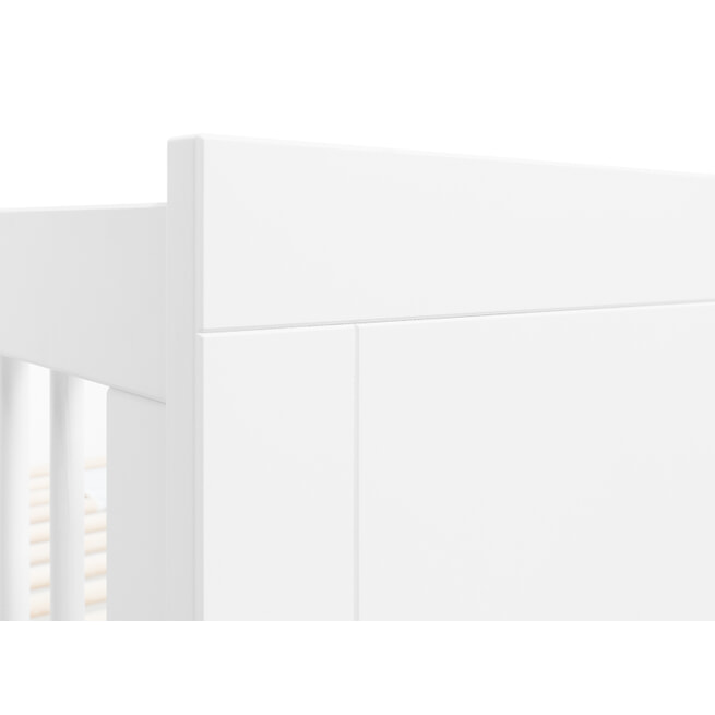 Bopita Ledikant 'Lucca' 60 x 120cm, kleur wit
