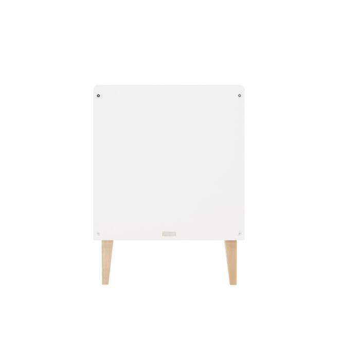 Bopita Ledikant 'Indy' 60 x 120cm, kleur wit / naturel