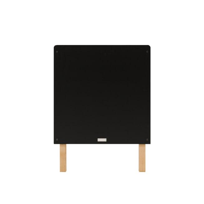 Bopita Ledikant 'Floris' 60 x 120cm, kleur mat zwart / naturel