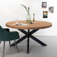 SoHome Eettafel 'Yannick' Rond, 130cm