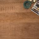 Brix Ronde Eettafel 'Sturdy' Mango met metaal