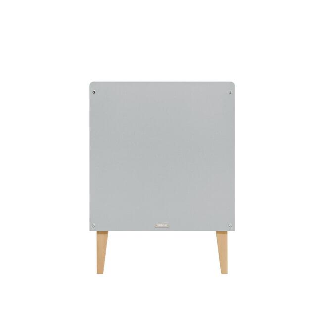 Bopita Ledikant 'Emma' 60 x 120cm, kleur grijs / wit