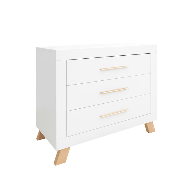 Bopita Commode 'Lisa' kleur wit / naturel