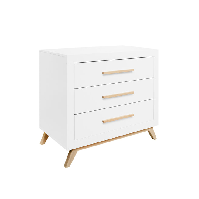 Bopita Commode 'Fenna' kleur wit / naturel