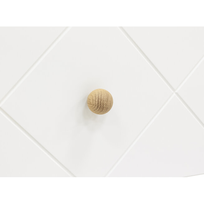 Bopita Commode 'Paris' kleur wit / eiken