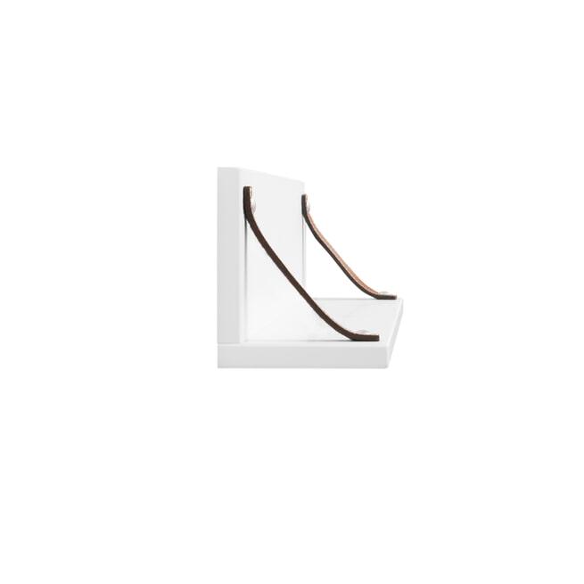Bopita Wandplank 'Lucca' kleur wit
