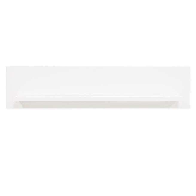 Bopita Wandplank 'Indy' kleur wit, 78cm