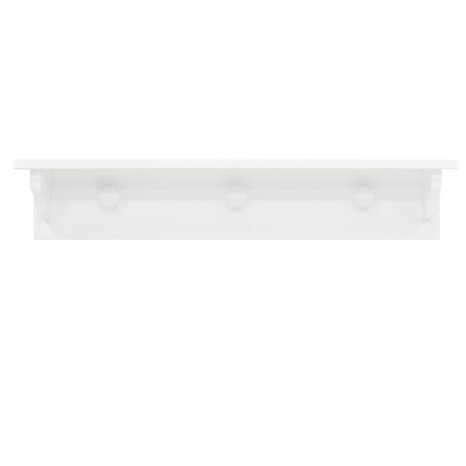 Bopita Wandplank 'Evi' kleur wit, 75cm