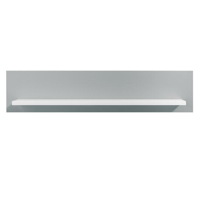 Bopita Wandplank 'Emma' kleur grijs / wit, 80cm