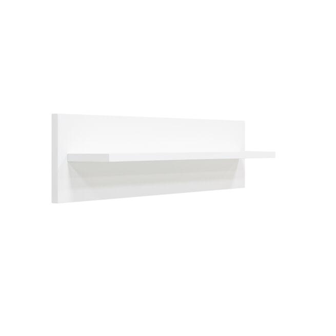 Bopita Wandplank 'Locker' kleur wit, 78cm
