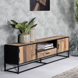 LivingFurn TV-meubel 'Dakota' 130 cm