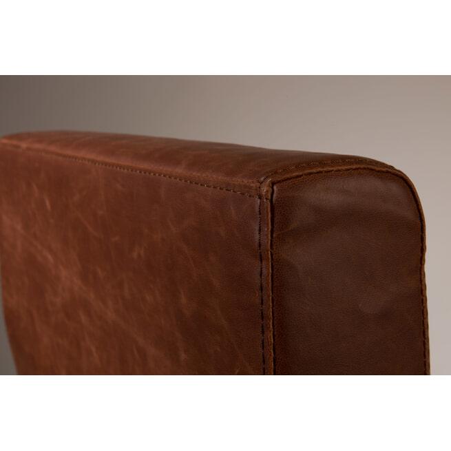 Dutchbone Eetkamerstoel 'Fez', kleur Vintage Bruin