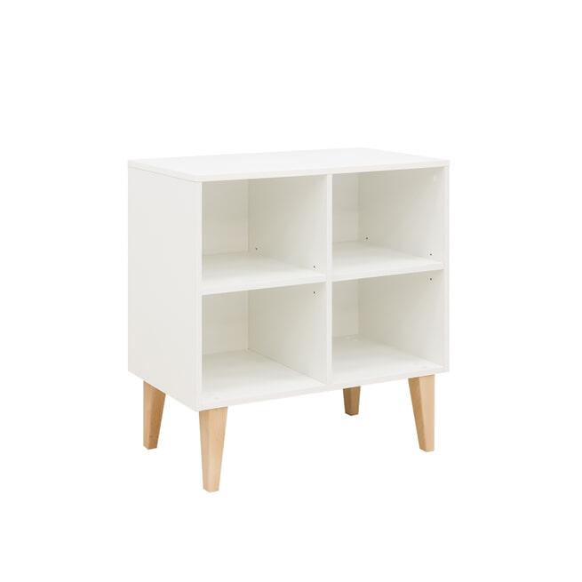 Bopita Opbergkastje 'Uno' kleur wit, 75cm