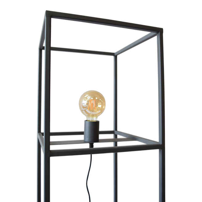 Urban Interiors vloerlamp 'Frame' 120cm, kleur Zwart