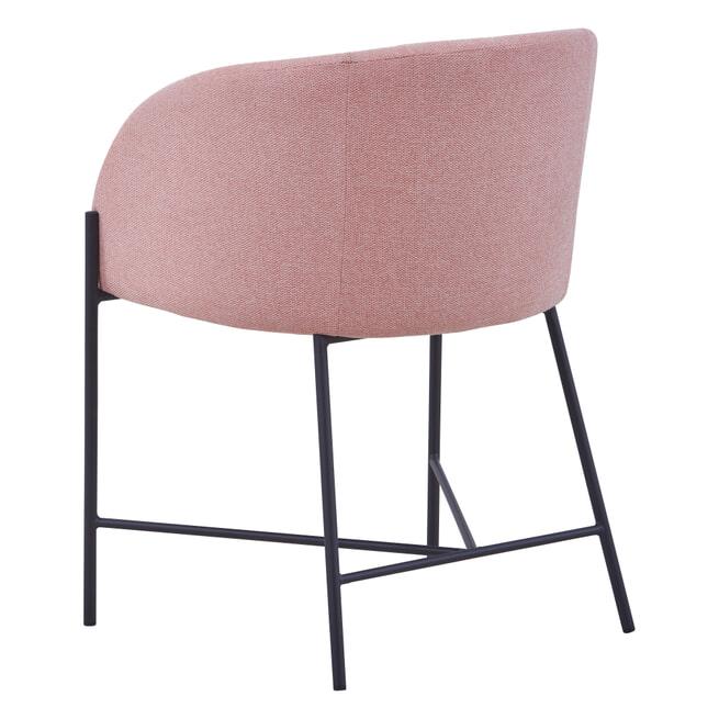 Artistiq Eetkamerstoel 'Ronny', kleur Roze