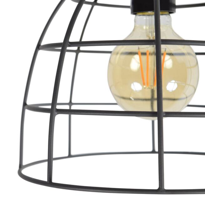 Urban Interiors plafondlamp 'Francis Large' Ø24, kleur Zwart