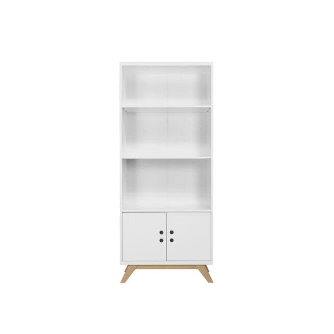 Bopita Boekenkast 'Lynn' kleur wit / naturel
