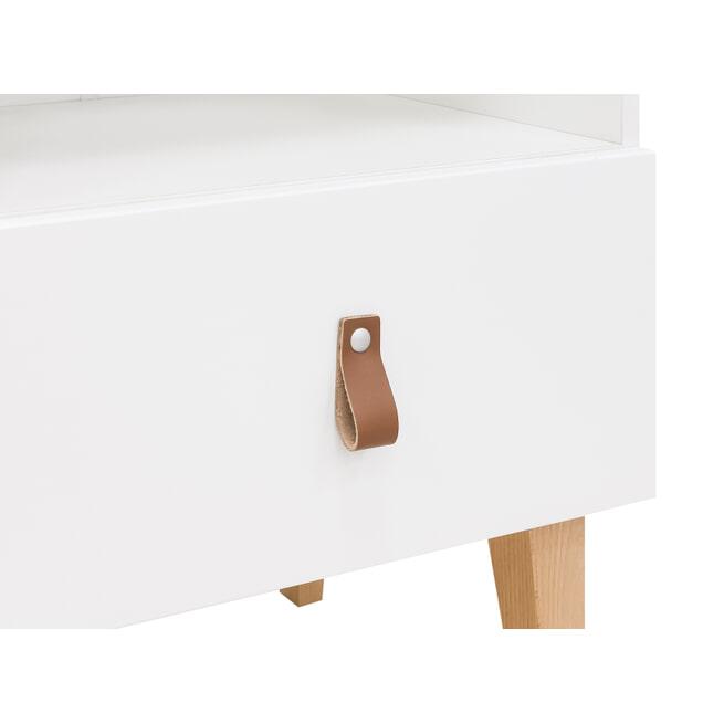 Bopita Boekenkastje 'Indy' kleur wit / naturel